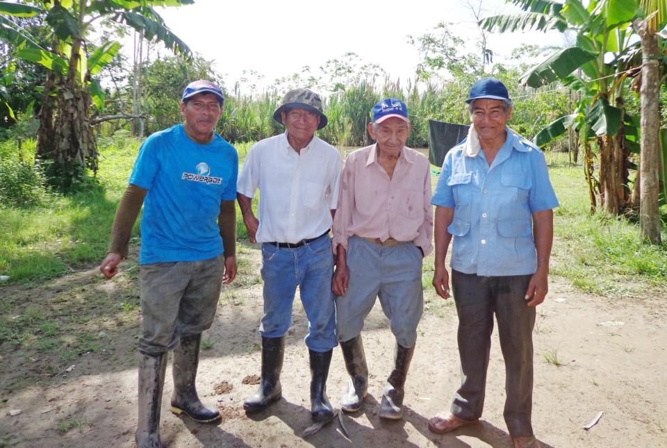 Jair, Juan, Eli and Miguel.